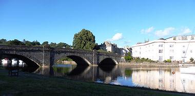 Bridge over the River Dart, Totnes