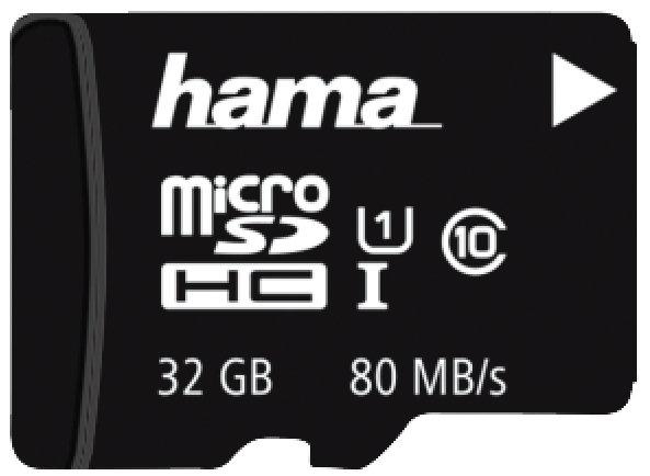 כרטיס זיכרוןHAMA00123978Micro SDHC32GB U3 UIV30 80MB/s+A/F
