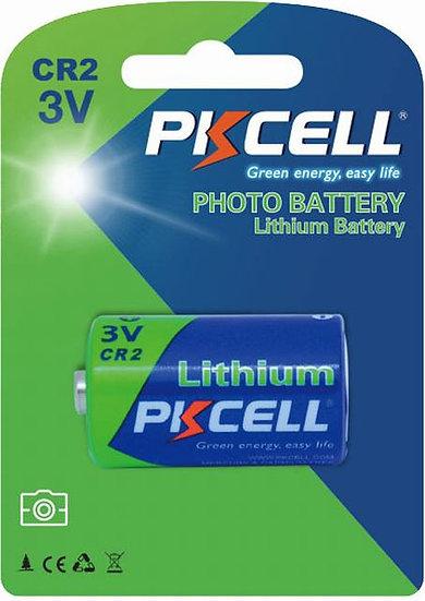 PKCELL CR2 V3 יחידות 1 ליטיום