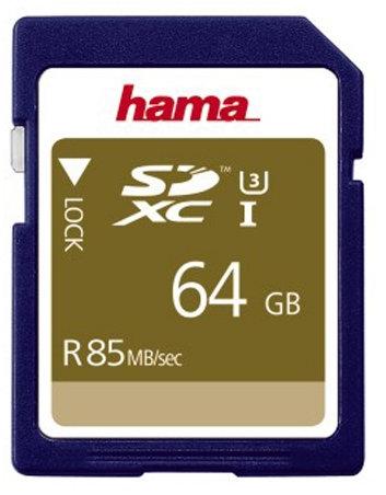 כרטיס זיכרון HAMA SDXC64GB 85MB/s