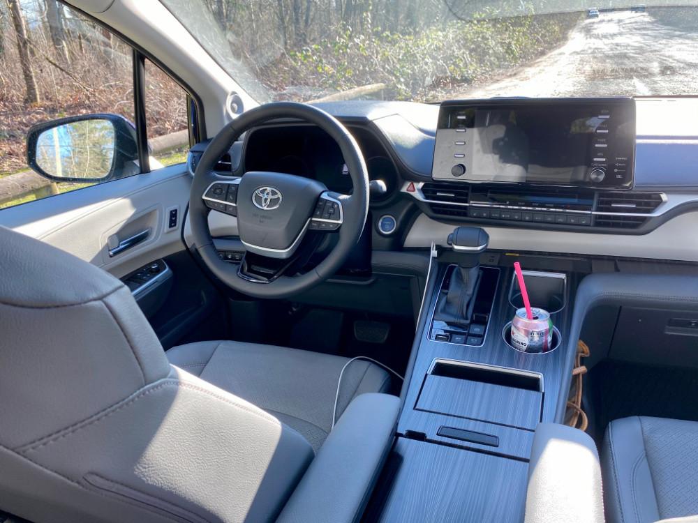 Toyota Sienna Hybrid AWD interior