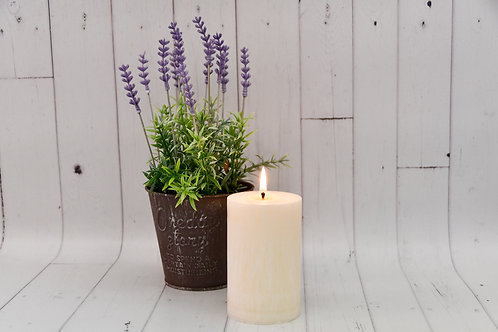 Palm Wax Pillar Candles