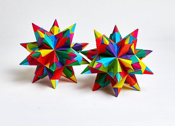 Origami Bascetta stars