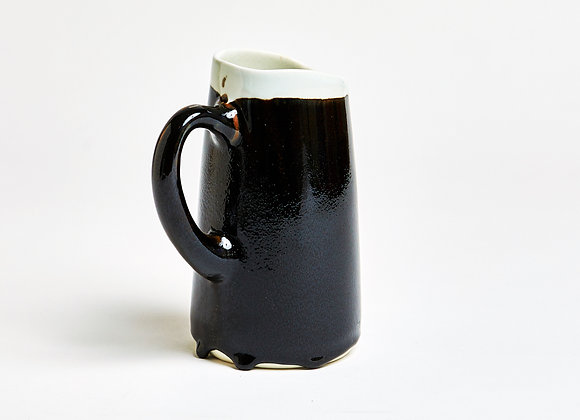 Pitcher in brown