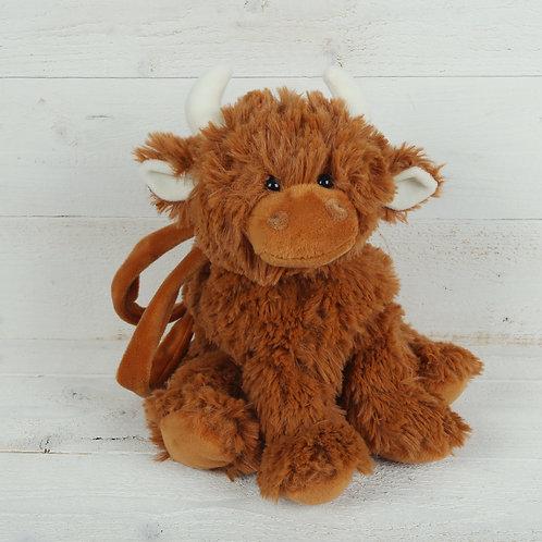 Highland Coo Toy Bag