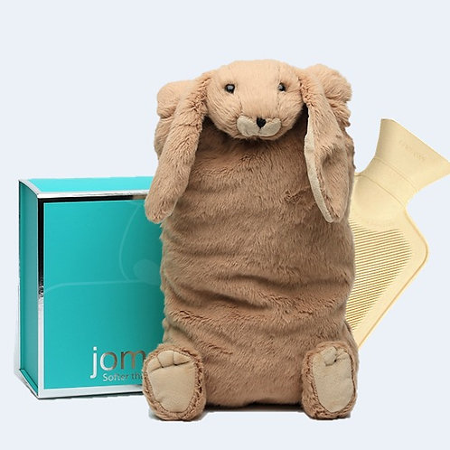Brown Bunny Cover & Hot Water Bottle in Magnetic Box