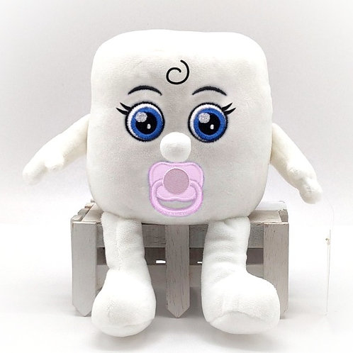 """Soft Toy """"Baby Mandy"""" Toilet Roll"""