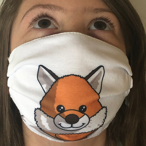 Fox Face Covering (Pack of 2) Ages 6-16