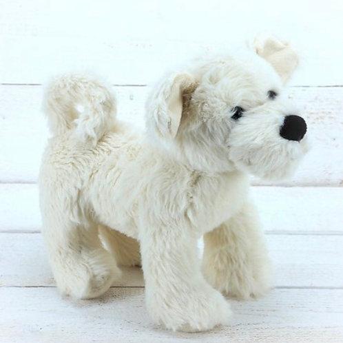 Cream Puppy Dog