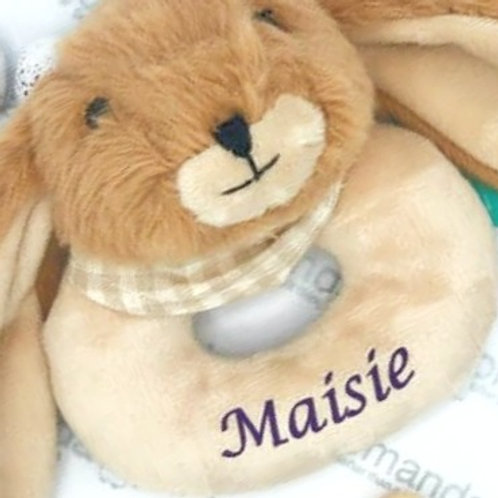 Personalised Baby Rattle
