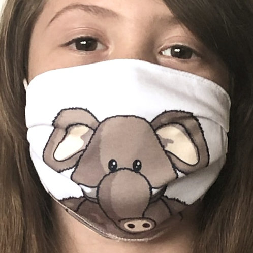 Elephant Face Covering (Pack of 2) Ages 6-16