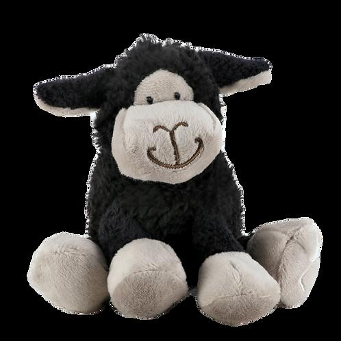 Mini Black Sitting Sheep