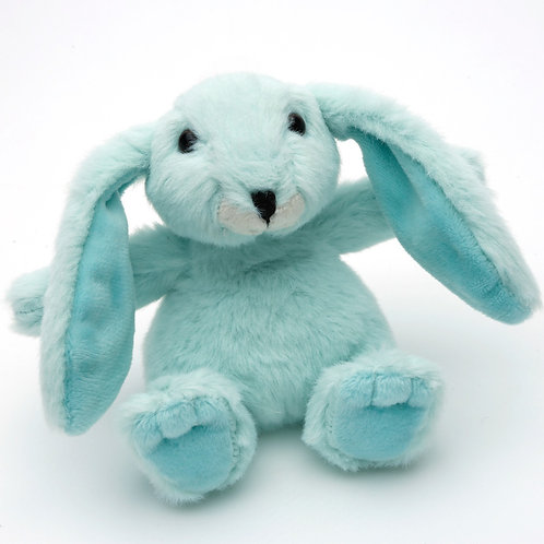 Small Snuggly Bunny Mint Green