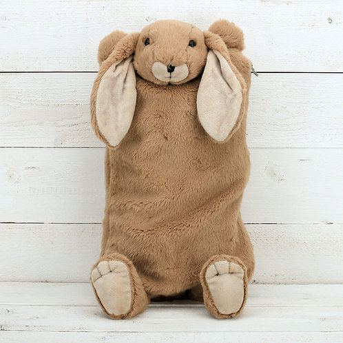 Brown Bunny Cover & Hot Water Bottle