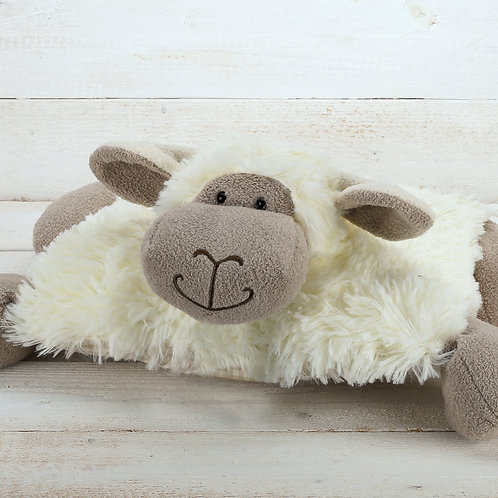 Sleepy Sheep Pillow with Velcro