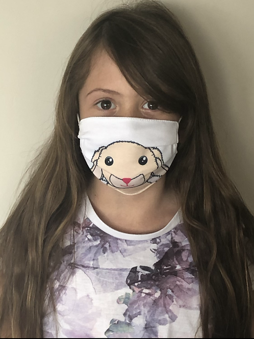 Bunny Face Covering (Pack of 2) Ages 6-16