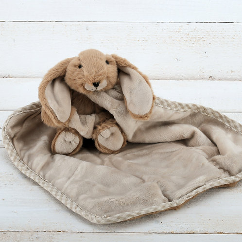 Bunny Toy Soother Brown