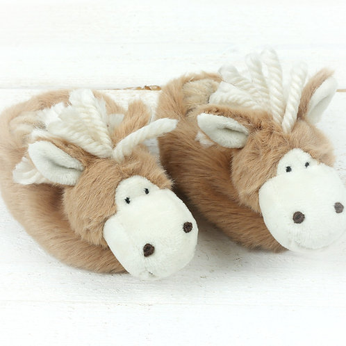 Haffie Pony Baby Slippers