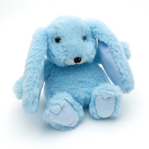 Small Snuggly Bunny Baby Blue