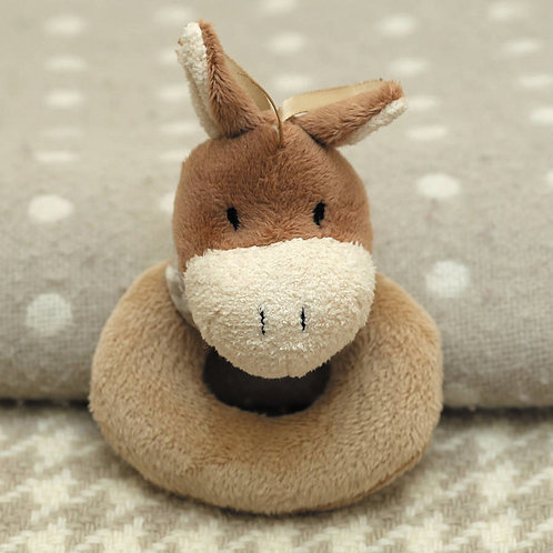 Cheeky Pony Baby Rattle - 10cm