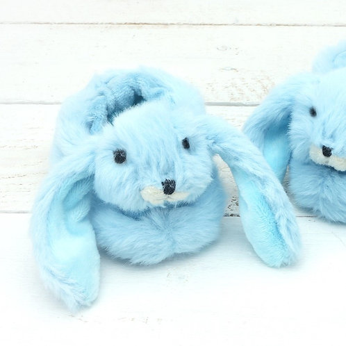 Bunny Baby Slippers Baby Blue