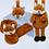 Thumbnail: Fox Hamper - Scarf, Ear & Hand Muff