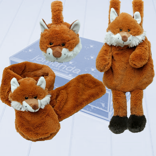 Fox Hamper - Scarf, Ear & Hand Muff