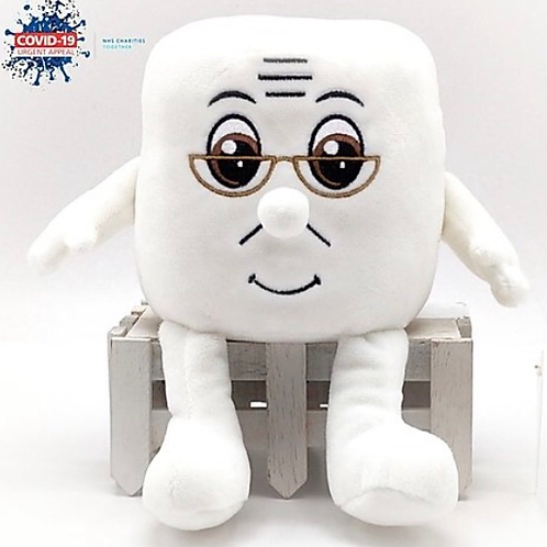 """Soft Toy """"Grandpa Andy"""" Toilet Roll In aid of the NHS Charities Together COVID-1"""