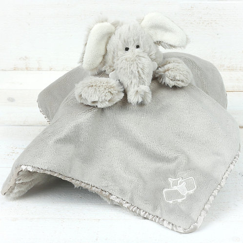 Elephant Finger Puppet Soother