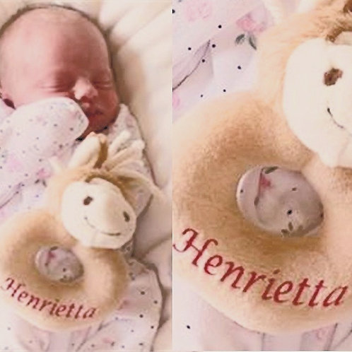 Personalised Baby Rattles