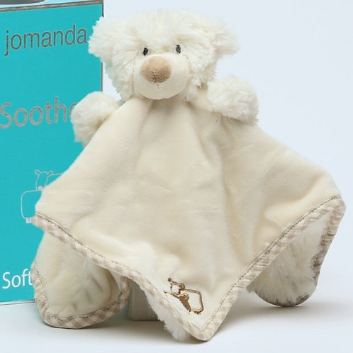 Bear Soother/Finger Puppet