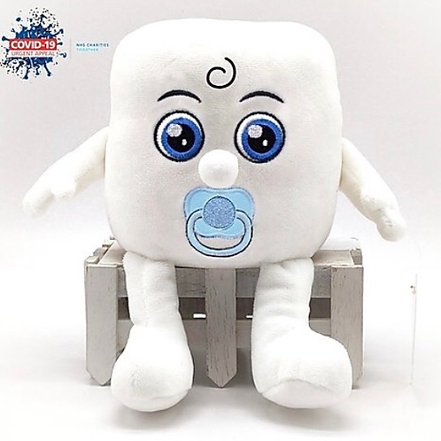 """Soft Toy """"Baby Andy"""" Toilet Roll In aid of the NHS Charities Together COVID-19 U"""