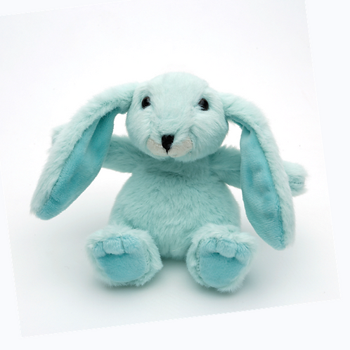 Mini Snuggly Bunny Mint Green