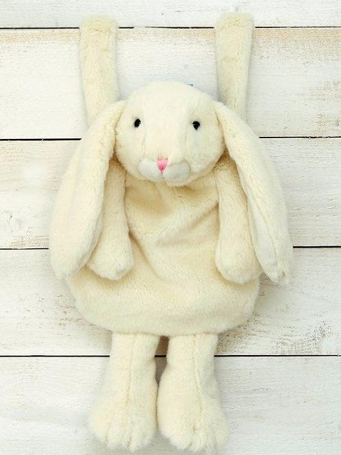 Bunny Hand Muff Cream