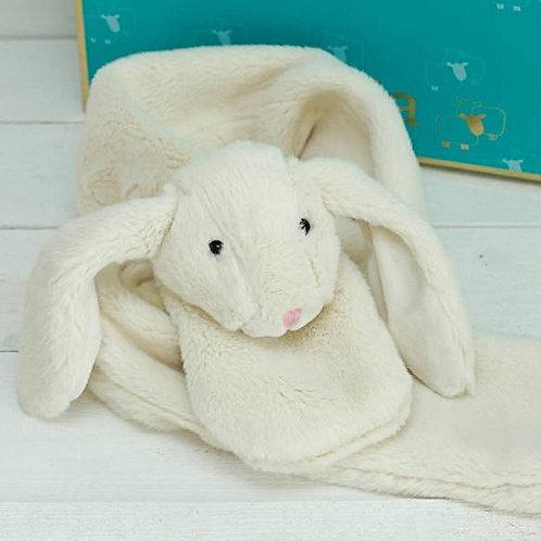 Bunny Scarf Cream