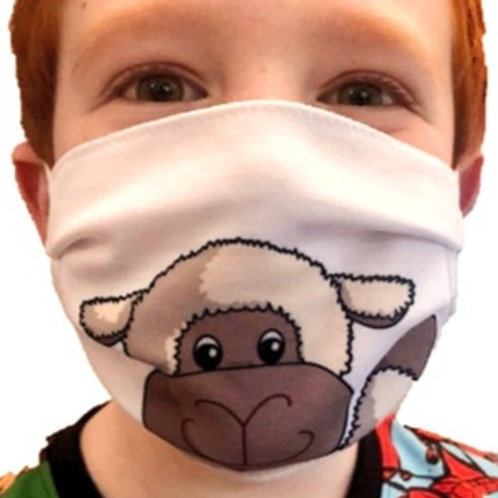 Sheep Face Covering (Pack of 2) Ages 6-16