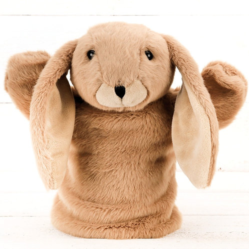 Brown Bunny Hand Puppet