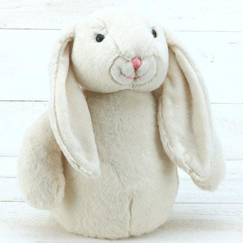Cream Bunny Doorstop