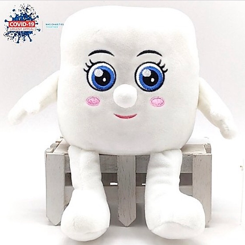 "Soft Toy ""Little Mandy"" Toilet Roll In aid of the NHS Charities Together COVID-1"