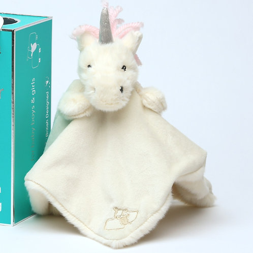 Unicorn Soother/Finger Puppet