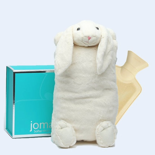 Cream Bunny Cover & Hot Water Bottle in Magnetic Box