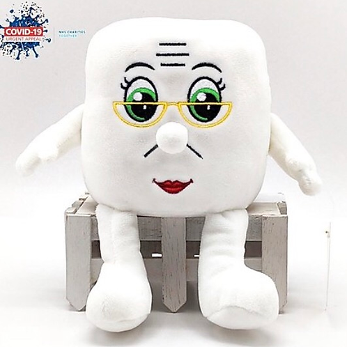 "Soft Toy ""Grandma Mandy"" Toilet Roll In aid of the NHS Charities Together COVID-"