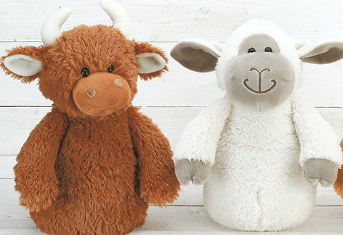 Highland Cow & Sheep Door Stop