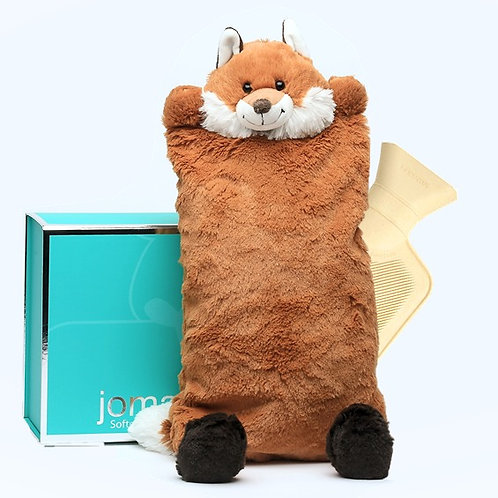 Fox Cover & Hot Water Bottle in Magnetic Box
