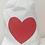 Thumbnail: Heart shaped Plush Cushion In Drawstring Heart Bag