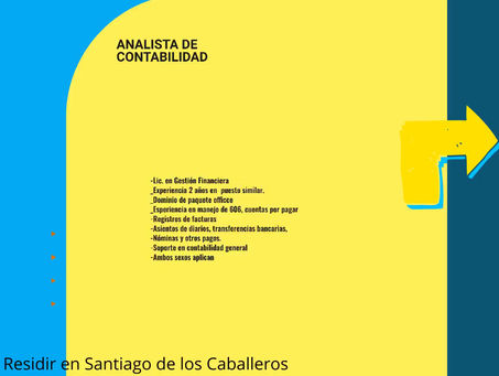 Analista de Contabilidad- Santiago