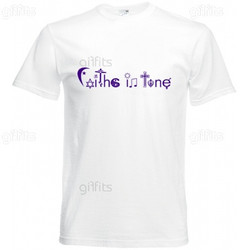 Faiths In Tune T-Shirt (white)
