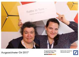 "Faiths In Tune named ""Landmark"" by Germany's ""Land of Ideas"" competition"