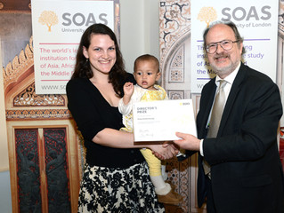 SOAS Volunteering Awards 2013
