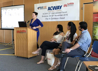 Youth engagement at ACWAY Forum in Brisbane
